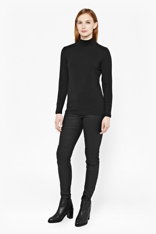 Complete the Look Primrose Polo Neck Top