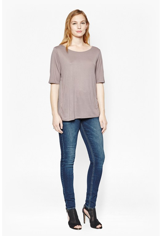 Easy Mix Pleated T-Shirt