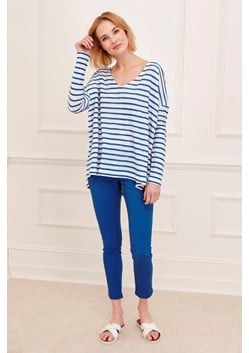 Petit Scallop Long Sleeved T-Shirt