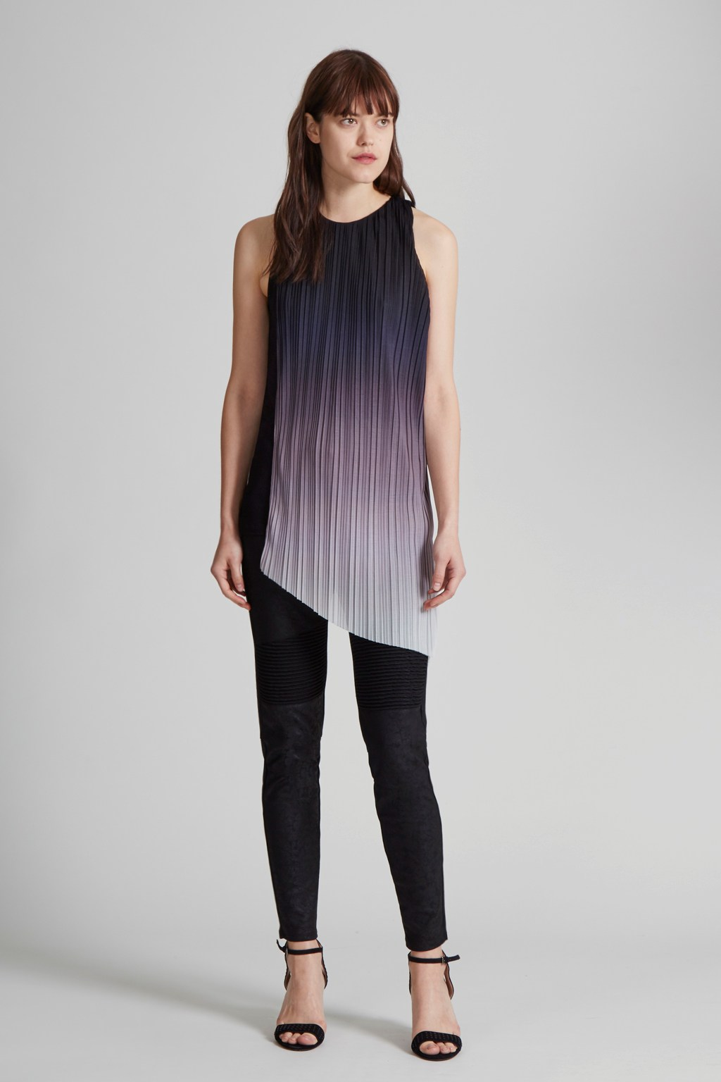 c9dd16313 Fade Out Jersey Asymmetric Top   Imported   Great Plains