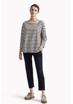 Take It Easy Oversized Stripe T-Shirt