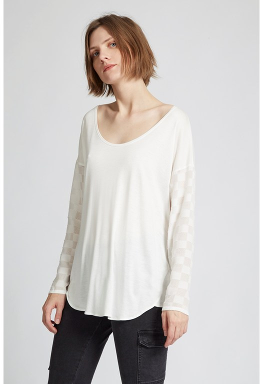 Mix A Lot Long Sleeves Top