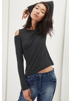 Callie Cold Shoulder Long Sleeved Top
