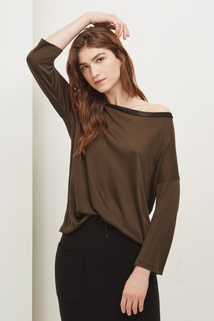 Maria Jersey Long Sleeved Top