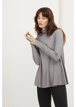 Parallel Lines Stripe Roll Neck Top