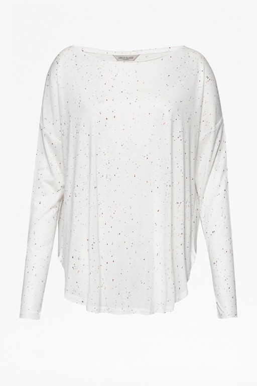 Complete the Look Safiya Speckle Oversized Top