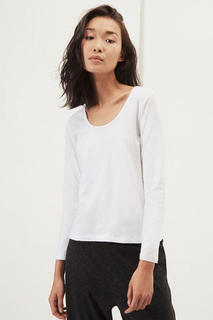 Essentials Fitted Stretch Top
