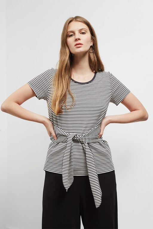 Complete the Look Tessa Tie T-Shirt