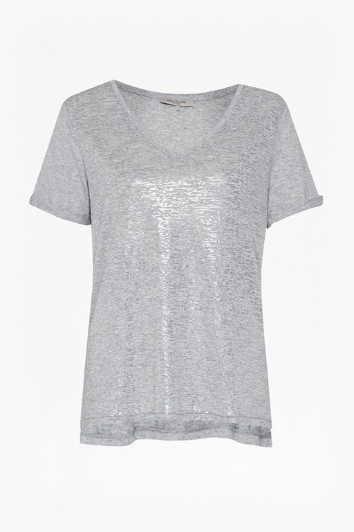 Complete the Look Let It Shine V Neck T-Shirt