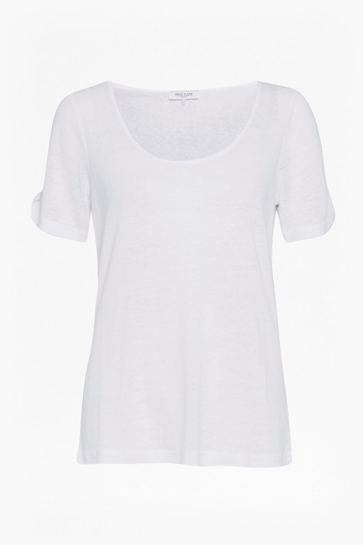 Complete the Look Lucy Linen Mix Jersey Tee