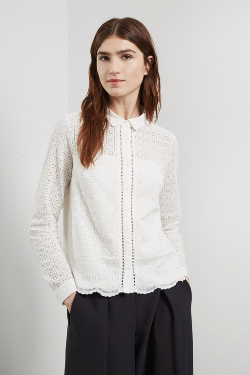 Complete the Look Lily Lace Mix Shirt