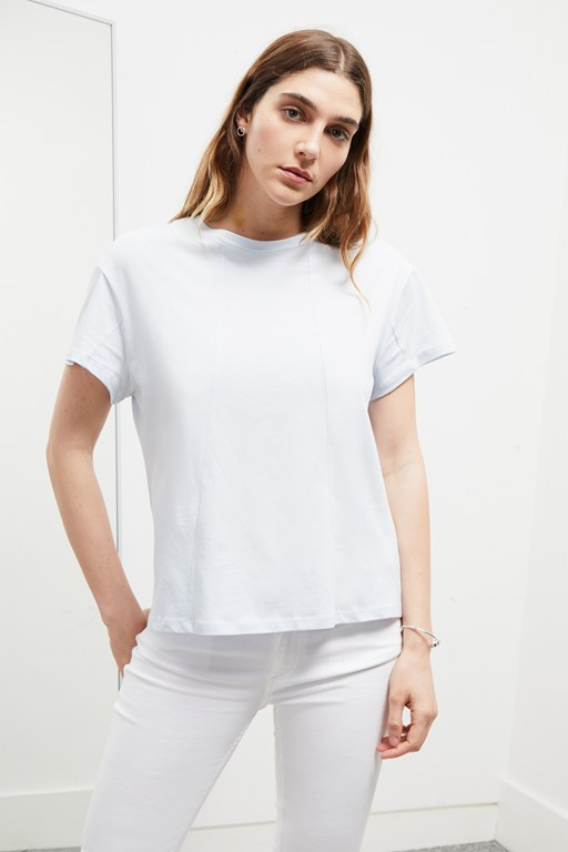 cotton jersey batwing top