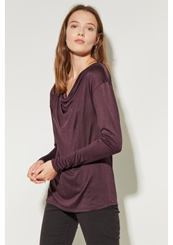 Silk Jersey Low Scoop Back Top