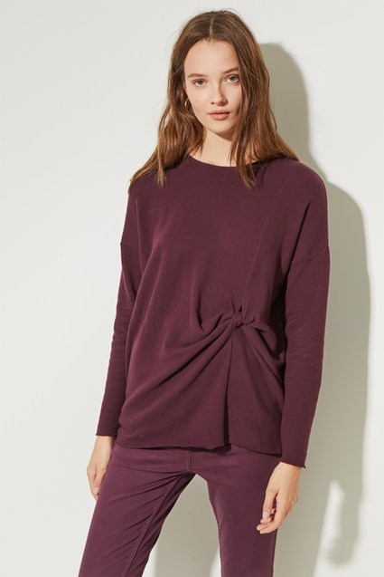 Kitten Soft Round Neck Top