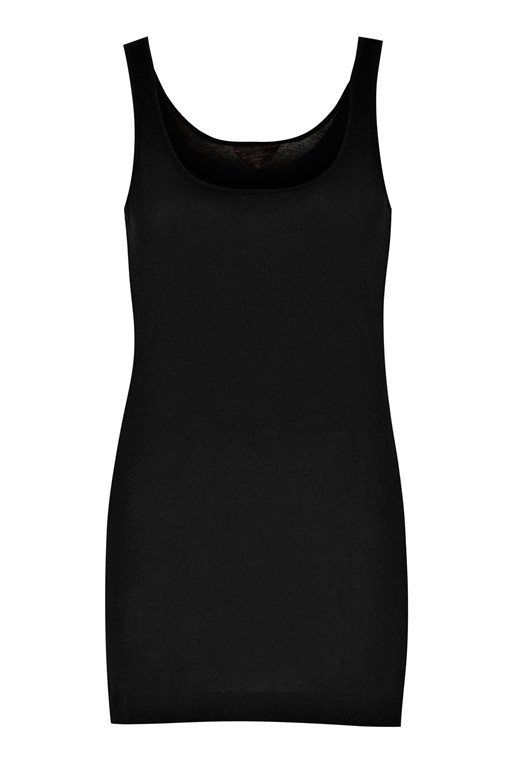 back to basics cotton vest