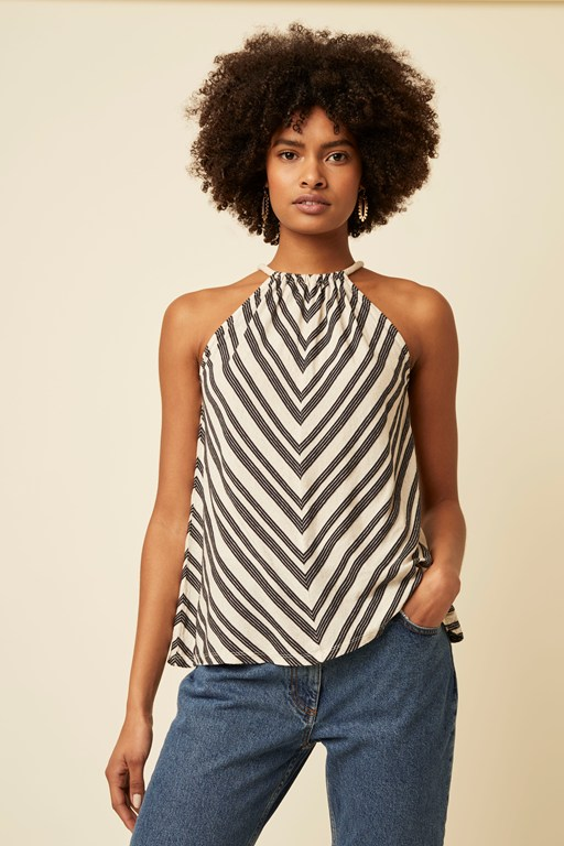 lumi stripe top