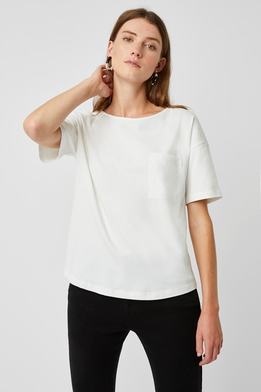 eliza jersey wide neck t-shirt