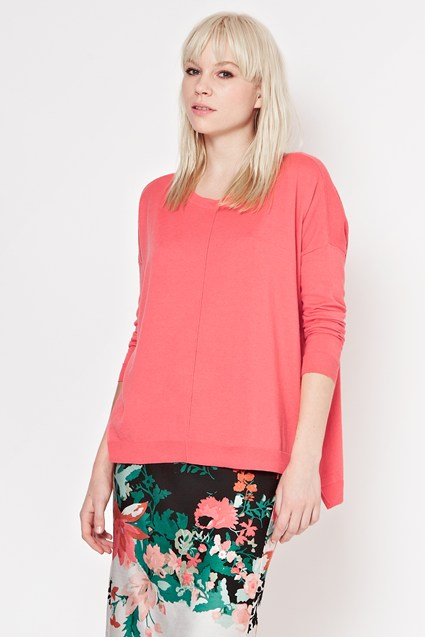 Percy Fine Knit Slouch Jumper