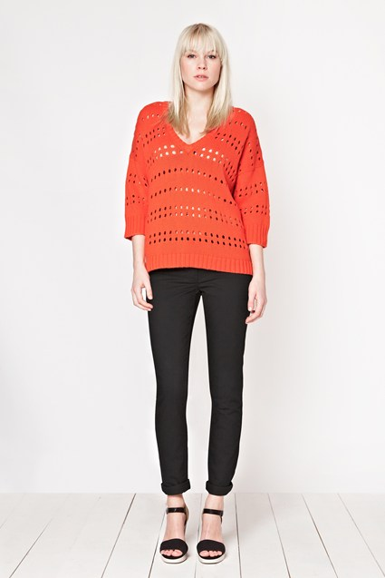 To The Point V-Neck Jumper