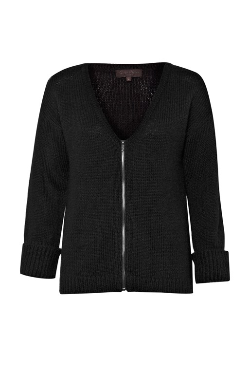 Complete the Look Fancy Nancy Zip-Up Cardigan