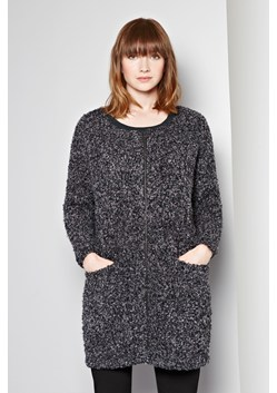 Boucle Zip-Through Cardigan