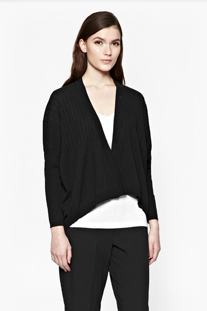 Evening Walk Waterfall Hem Cardigan