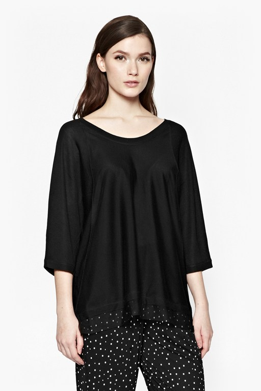 Complete the Look Mish Mesh Bat Wing Jumper