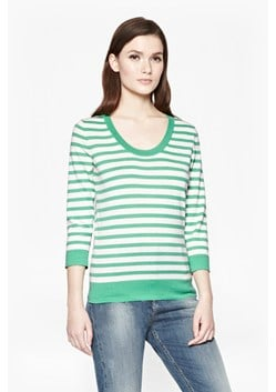 Summer Stripes Scoop Neck Jumper