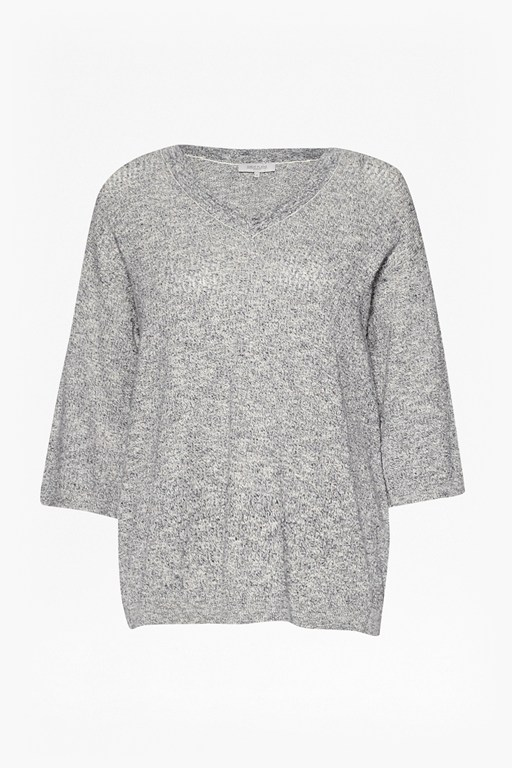 Complete the Look Mini Bouclé Open-Back Jumper