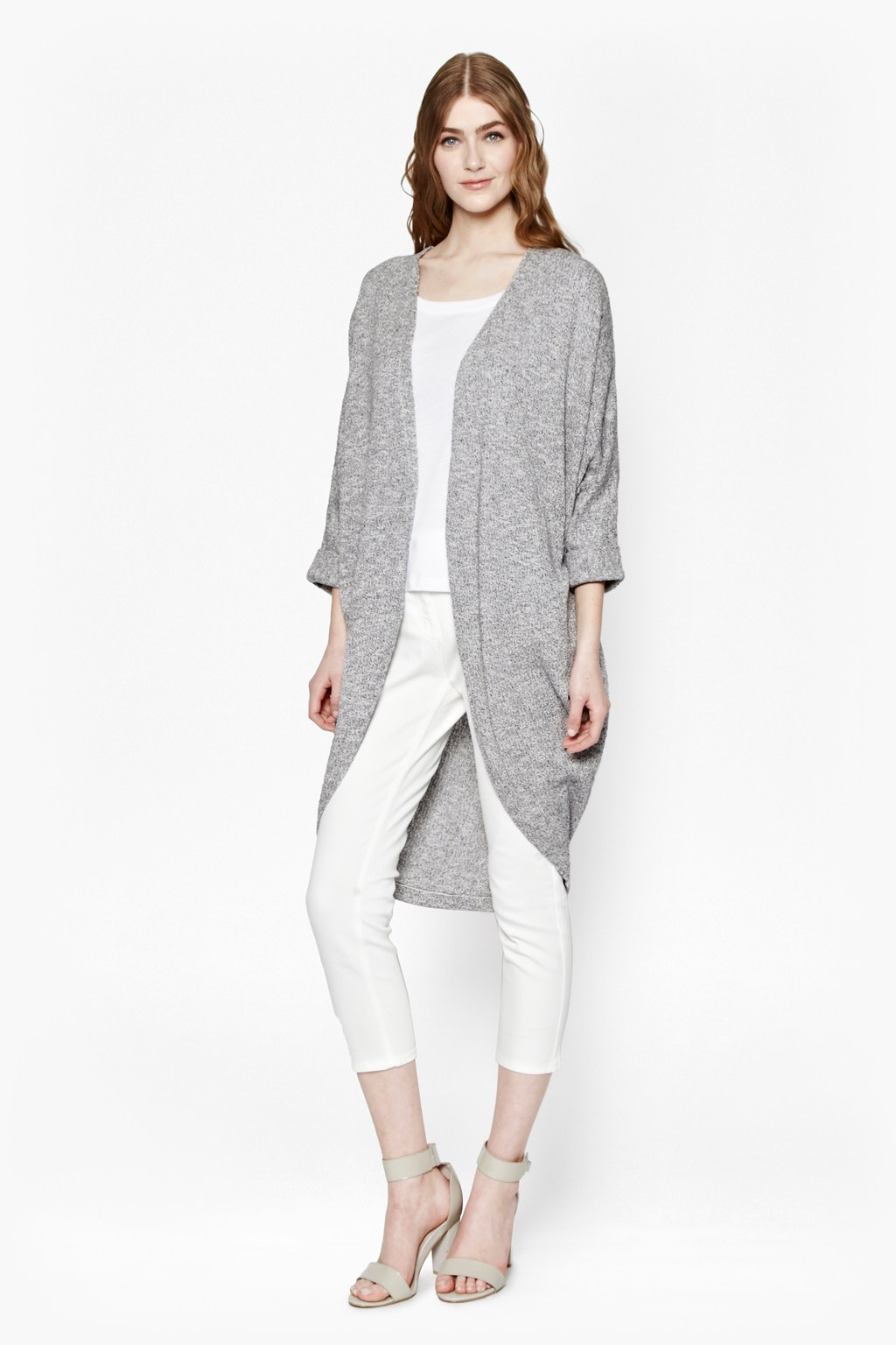Mini Bouclé Longline Cardigan | Women | Great Plains