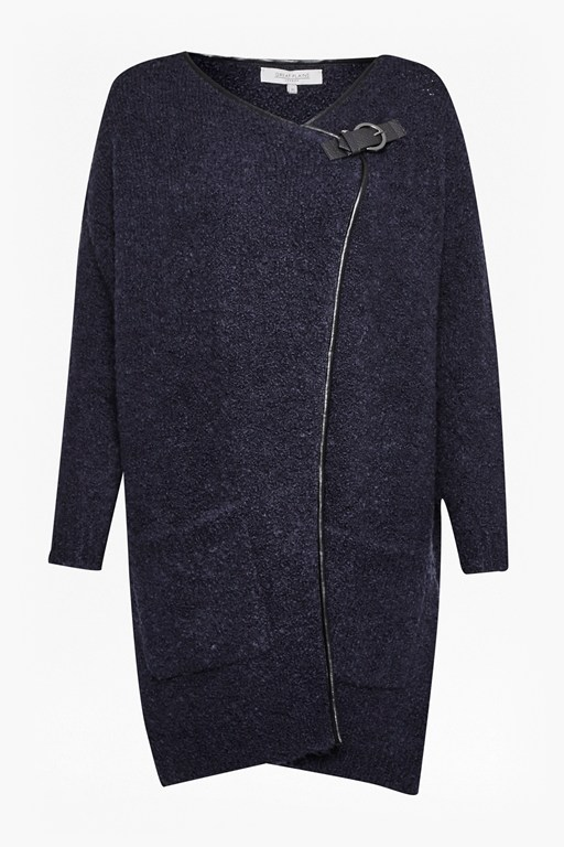Complete the Look Banging Buckled Wool Cardigan