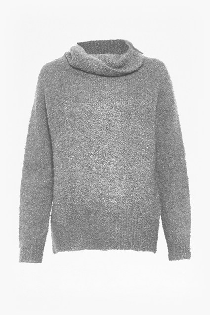 Banging Bouclé Wool Jumper