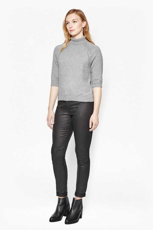 Complete the Look Heavenly Roll Neck Knit