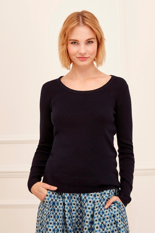 Complete the Look Nicnac Basics Fine Jumper