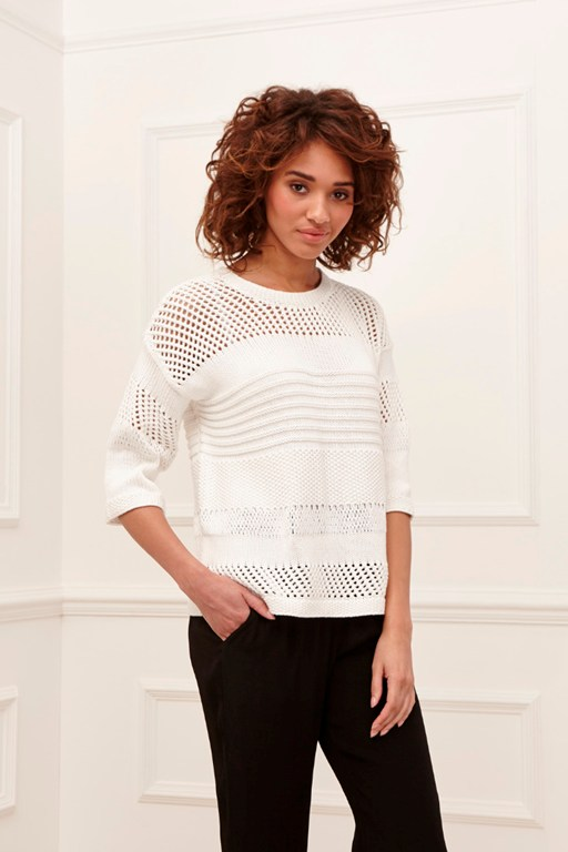 jessa cotton mix jumper