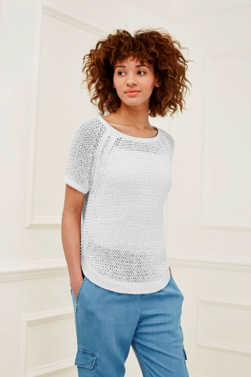 nile valley knit t-shirt