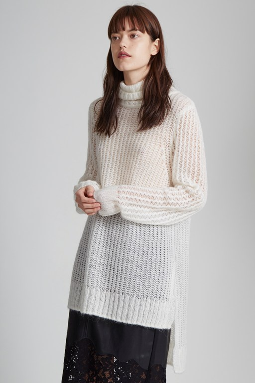 marlene knit roll neck jumper
