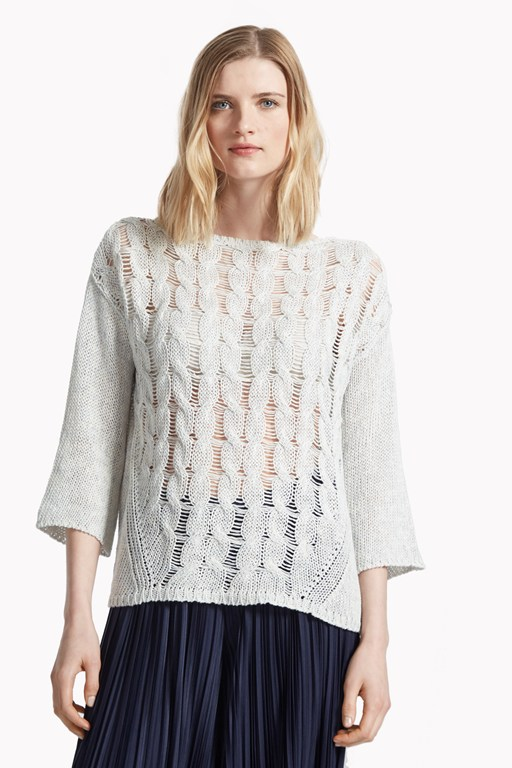 bryony cable knit jumper