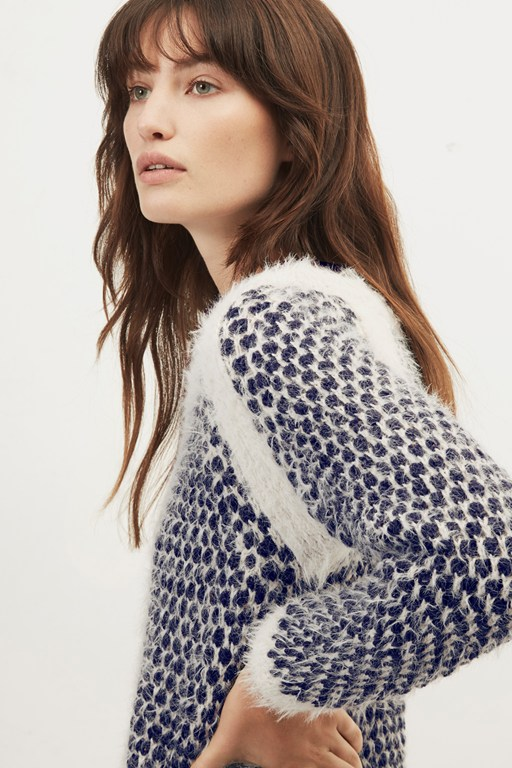 birchie round neck sweater