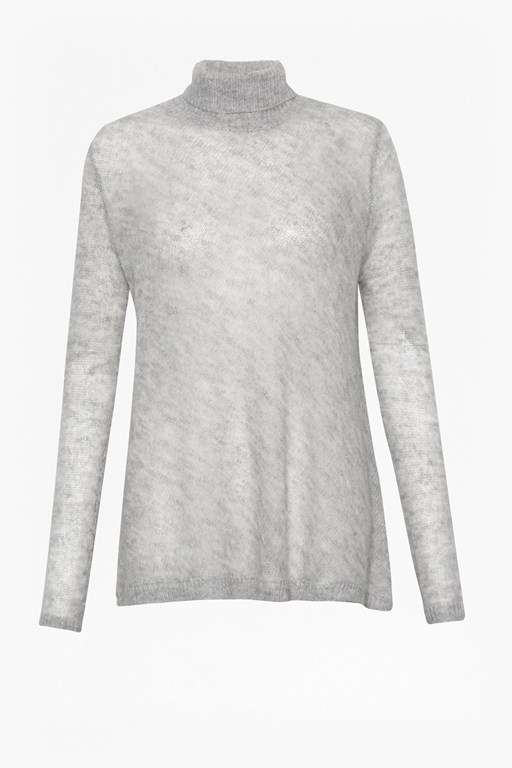 Complete the Look Mia Mohair Fluted Hem Jumper