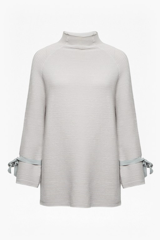 kimara cotton bow sleeve jumper