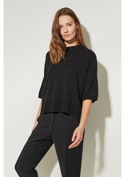 Links Stitch Round Neck Jumper