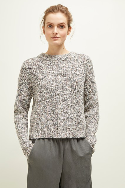 Dakota Multi Round Neck Jumper