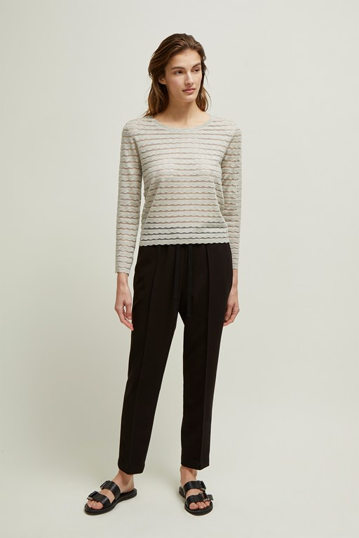 sunday scallop jumper