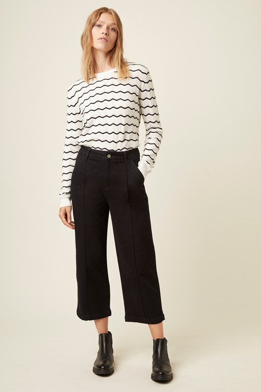 bresle knit stripe jumper