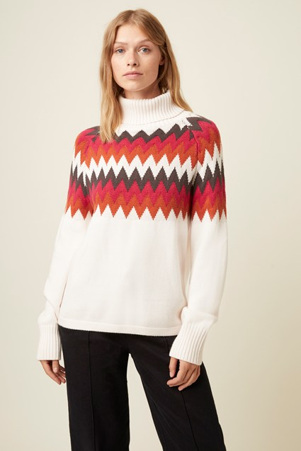 Abbeville Roll Neck Jumper