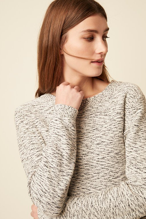 pia knit round neck jumper