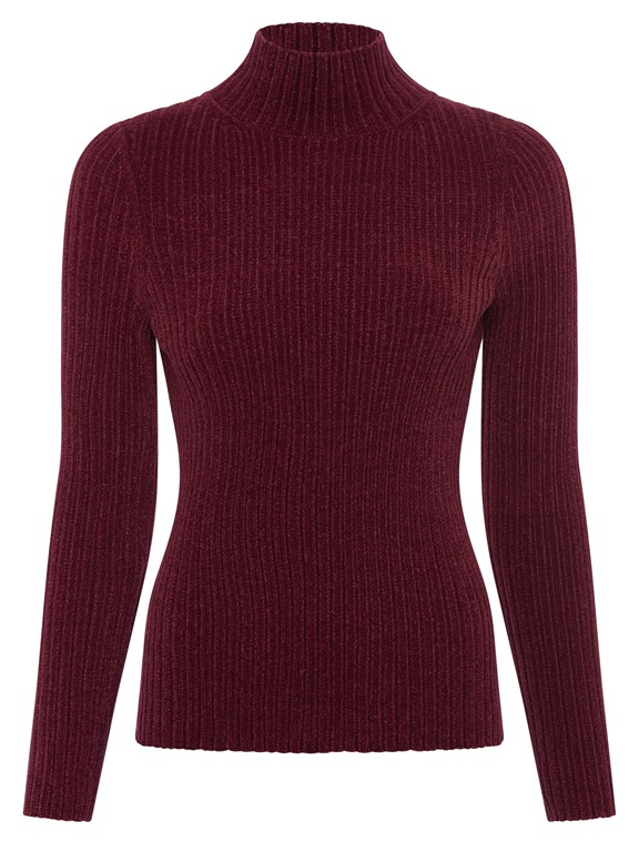 bethan knit high neck jumper
