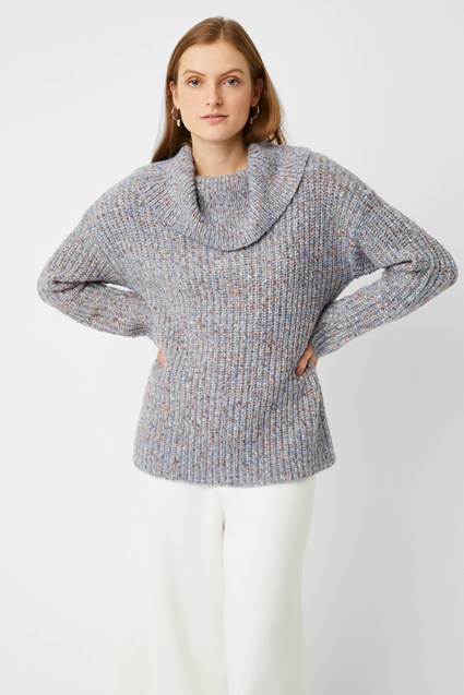 Ava Knit Roll Neck Jumper
