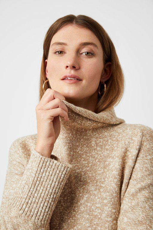 kate knit funnel neck jumper
